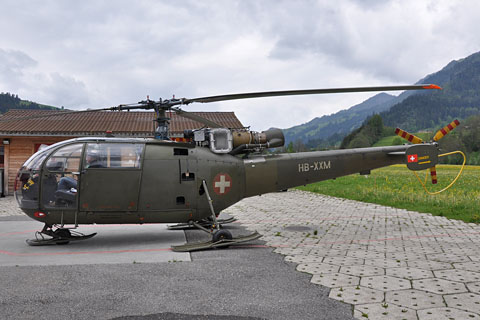 HB-XXM SE.3160 Alouette 3 by SwissHeli.com